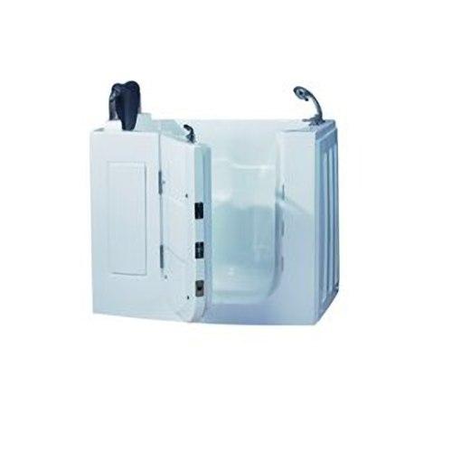 【海夫健康生活館】開門式浴缸109-T 恆溫水柱按摩款 (120*68*92cm)
