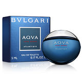Bvlgari寶格麗 勁藍水能量男性淡香水小香(5ml)