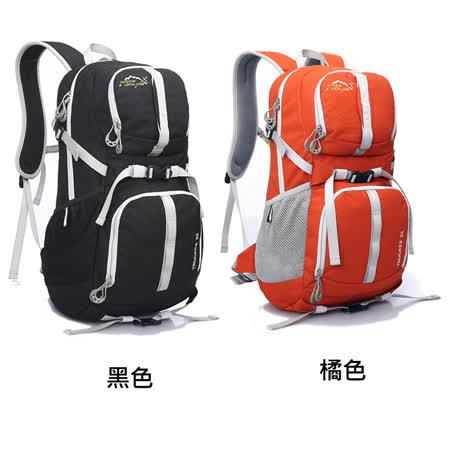 【LOCAL LION】32L都會休閒背包/登山包458-BK(黑)/OG(橘)