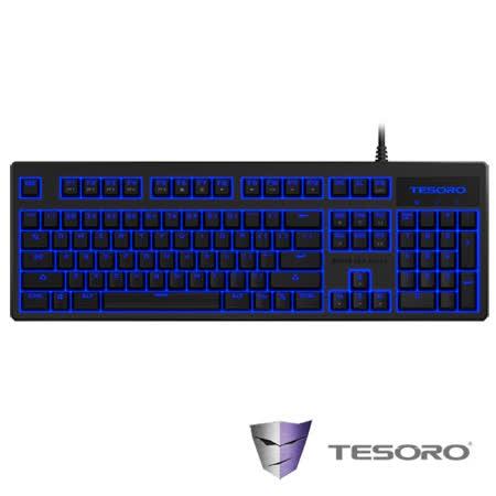 TESORO鐵修羅 神劍Excalibur V2機械式鍵盤-紅軸中文黑