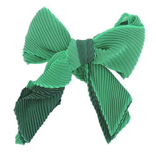 ISSEY MIYAKE 三宅一生 PLEATS PLEASE 雙色漸層O型圍巾(中/藍綠)