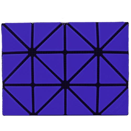 ISSEY MIYAKE 三宅一生 BAOBAO霧面3x4名片夾(藍紫)