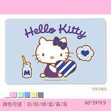 【三麗鷗獨家授權】Hello Kitty珪藻土吸水地墊 /彩印-甜蜜早安
