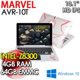 漫威系列 復仇者聯盟 Avengers AVR10T 10.1吋 Z8300/4G/64G WIN10 2合1平板電腦
