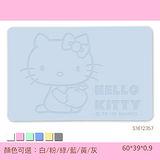 Hello Kitty珪藻土吸水地墊 三麗鷗獨家授權/雕刻/蘋果抱抱