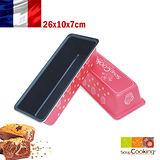法國【Scrap Cooking】樂桃烘廚 磅蛋糕不沾烤模26x10x7cm