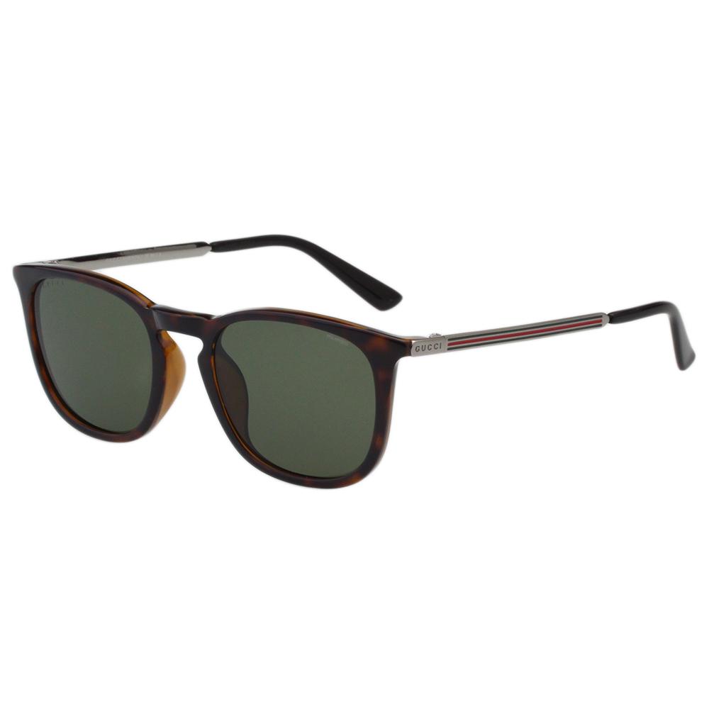 GUCCI 復古款 太陽眼鏡 (琥珀色)