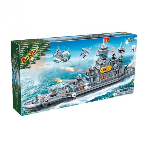 【BanBao 積木】戰爭系列-巡洋艦 8241