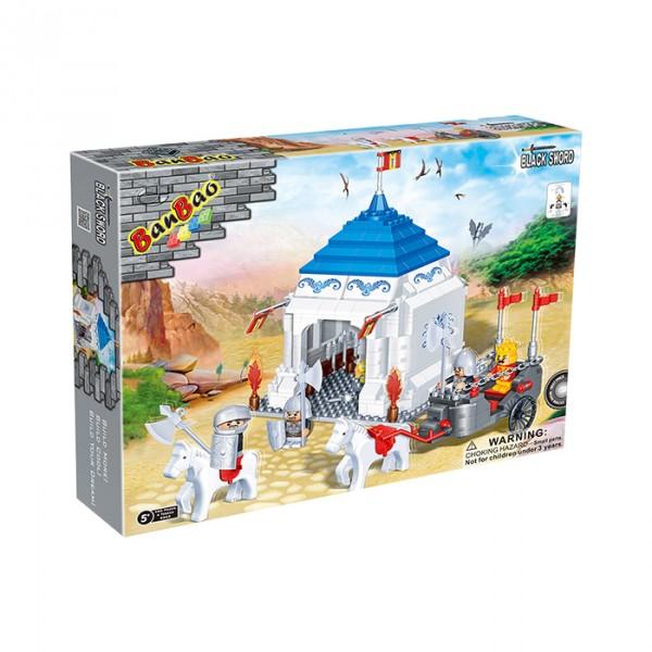 【BanBao 積木】城堡系列-蒙古包 8263
