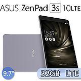 ASUS 華碩 ZenPad 3S 10 9.7吋/六核心/4G/32GB LTE版 超薄平板電腦(Z500KL) -送螢幕保護貼+平板立架+指觸筆+耳機