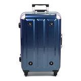 MOM 日本品牌 - 24吋 PC鋁框拉桿行李箱 RU-3008-24-藍