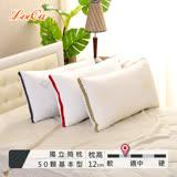 (團購2入) LooCa 時尚版-透氣超釋壓獨立筒枕2入(共3色)