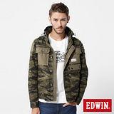 EDWIN M65軍裝外套-男-迷彩
