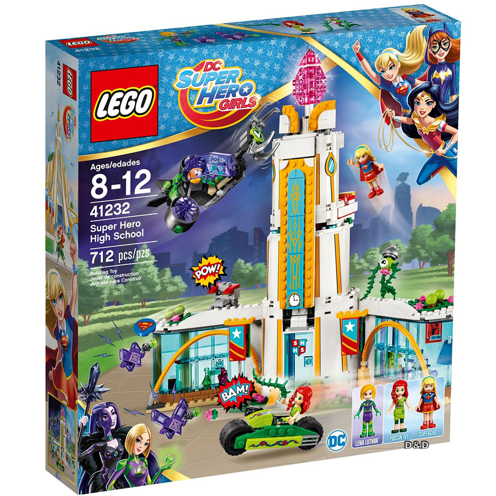 LEGO《 LT41232》DC超級女英雄系列 - LT41232 Super Hero High School