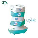 GW水玻璃分離式疊疊樂除濕機(1+4+1天空藍)