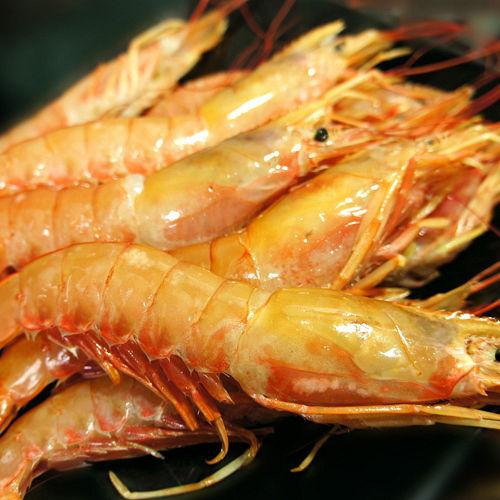 【築地一番鮮】頂級刺身用-天使紅蝦2kg(約20-25尾/kg)免運組