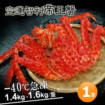 築地一番鮮 特大級急凍 智利帝王蟹(1.4-1.6kg/隻)