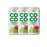 椰活100%純椰子水500ml*3