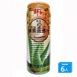 半天水 鮮剖蜂蜜蘆薈汁(小箱) 520ml x 6罐