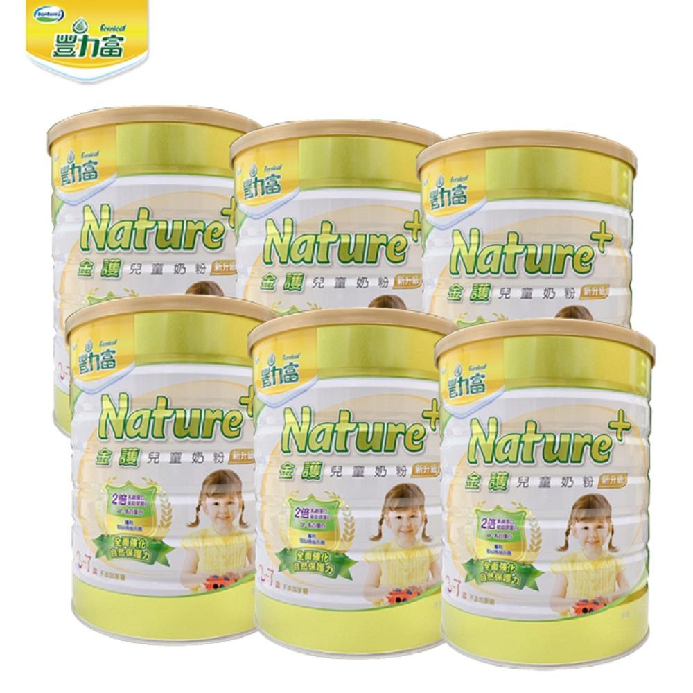 豐力富 Nature+ 3-7歲兒童奶粉1500g x6罐