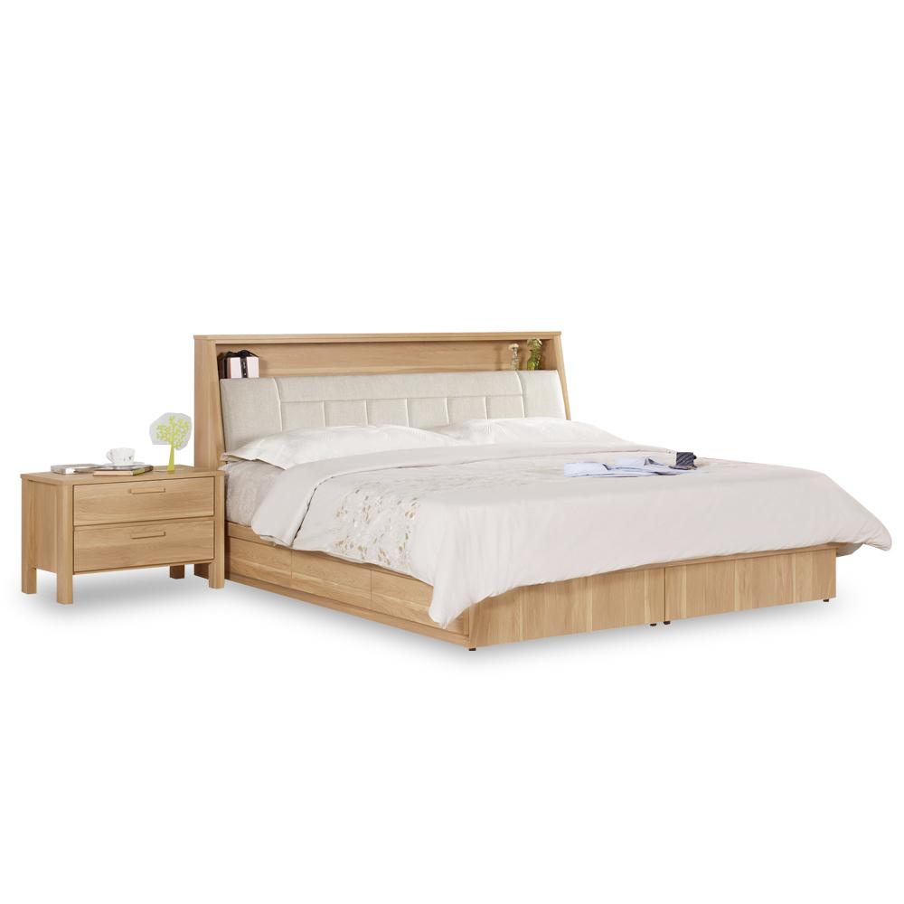 HAPPYHOME 波里斯5尺被櫥式雙人床C7-575-2不含床墊-床頭櫃/免運費