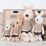 鄉村兔-Le Sucre砂糖兔 法國兔子布偶抱枕 娃娃禮物 45CM