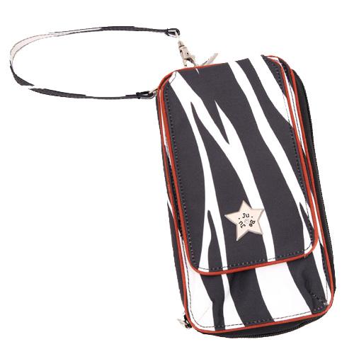 【美國Ju-Ju-Be媽咪包】BeMajor 手拿包-SafariStripes時尚斑馬紋