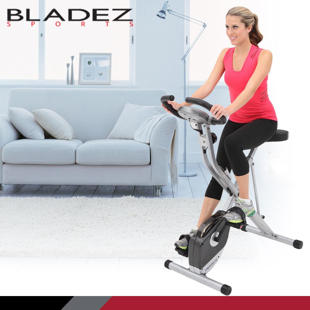 【Paradigm】EXERPEUTIC W-Plus折疊式直立磁控健身車