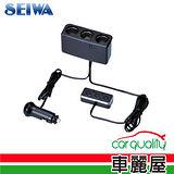 【日本SEIWA】感應式3孔電源插座(F263)