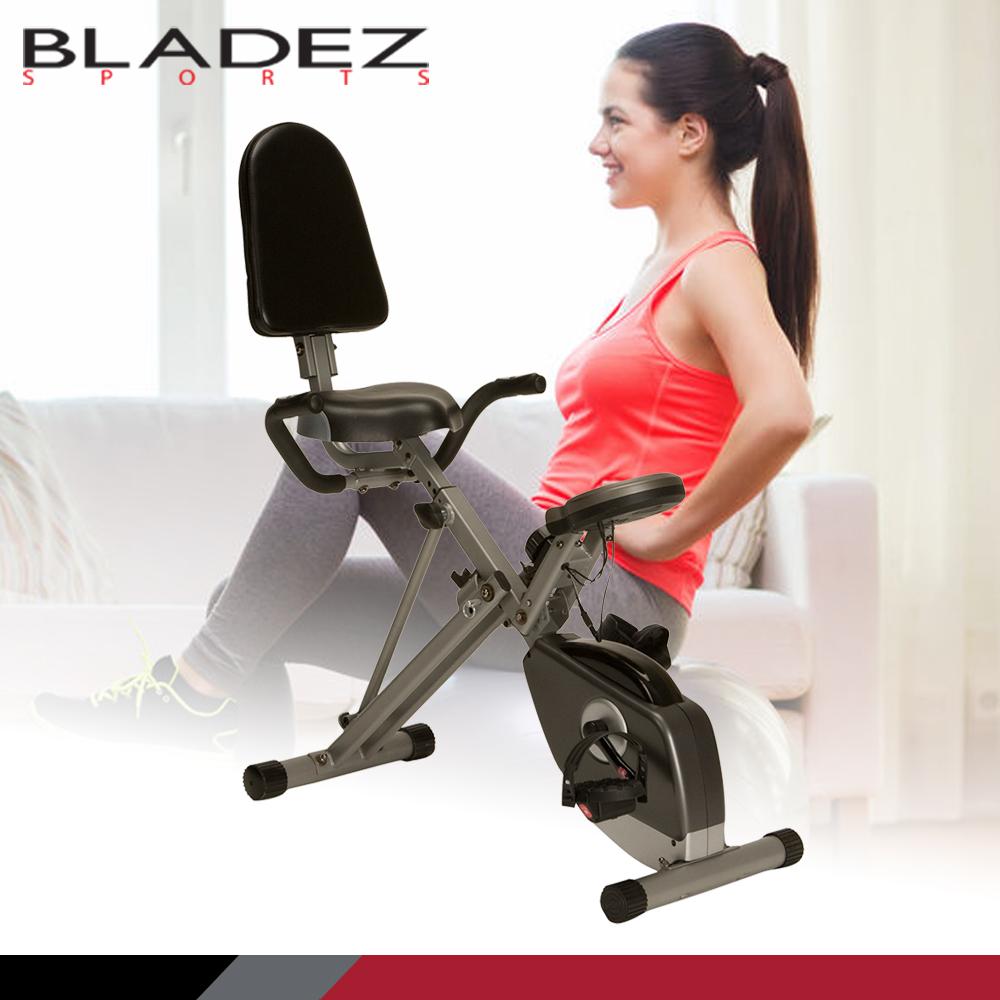 【Paradigm】EXERPEUTIC X-Plus 斜躺式磁控折疊健身車