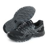 Asics 男鞋 慢跑鞋 黑 T727N9099