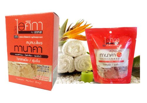 泰國SUPAPRON 塔納卡淨白草本香皂和泰國SUPAPRON 塔納卡淨白草本搓澡SPA沐浴皂組合