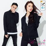 【BeautyFocus】台灣製吸排抗UV認證立領防曬外套-5082黑色