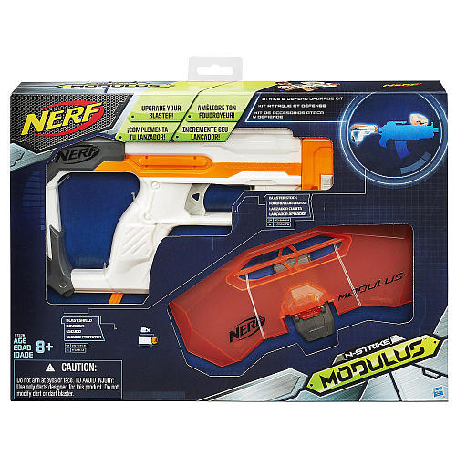 《 NERF 樂活打擊 》自由模組 - 攻擊防衛套件