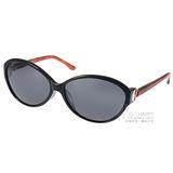 agnes b.太陽眼鏡 百搭簡約小框款(黑-琥珀) #AB2819 BD