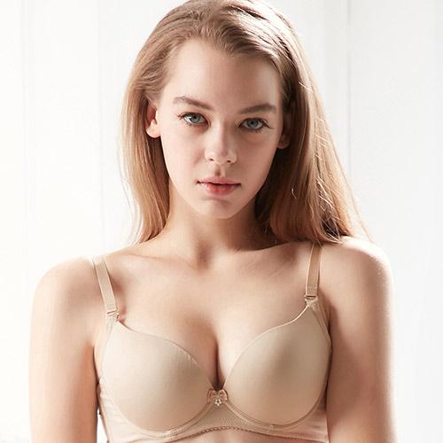【EASY SHOP】清恬素体美人 無痕款B-D罩內衣(零感膚)