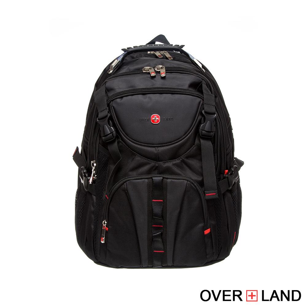 【OVERLAND】美式十字軍 - 率性雙拉鍊後背包/多功能背包 - 2572