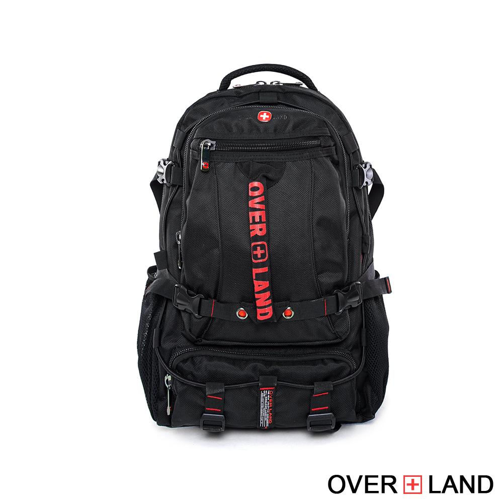 【OVERLAND】美式十字軍 - 型男美式率性多功能後背包 - 25061