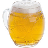 《EXCELSA》Sport造型啤酒杯(足球650ml)