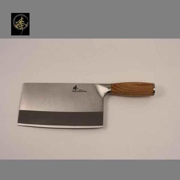 料理刀具 三合鋼系列-中式菜刀-剁刀(橡木柄) 〔 臻〕高級廚具-SC829-C4(OAK)