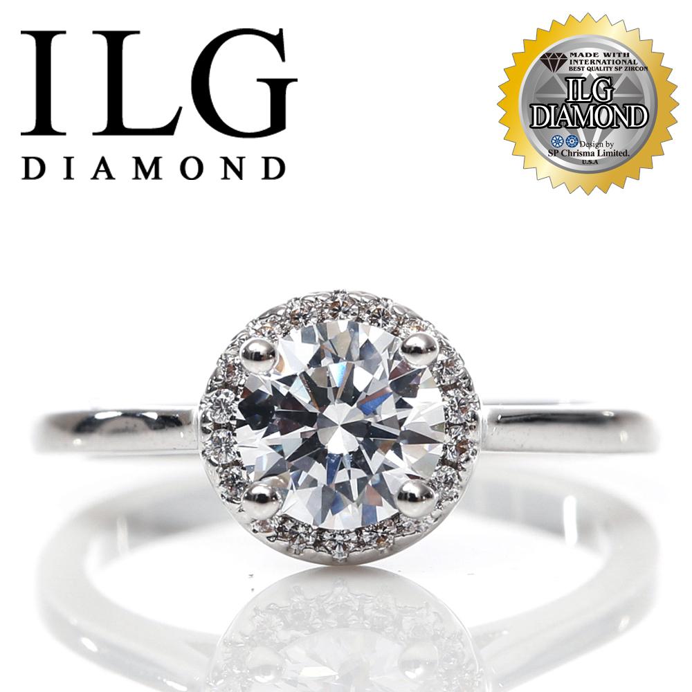 【頂級美國ILG鑽飾】八心八箭戒指-75分 雅典花園款 Ri128 寵愛摯愛閃耀美麗