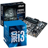 Intel i3-7100+華碩 PRIME B250M-A主機板
