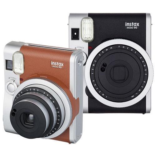 FUJIFILM instax mini 90馬上看經典復古拍立得相機(公司貨)★加送卡通底片2盒(款式隨機)+拍立得相冊(馬卡龍系列64張)★