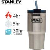 【美國Stanley】冒險系列吸管隨手杯591ml-原色
