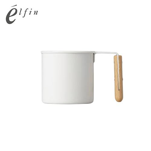 日本高桑elfin  原木琺瑯杯-S