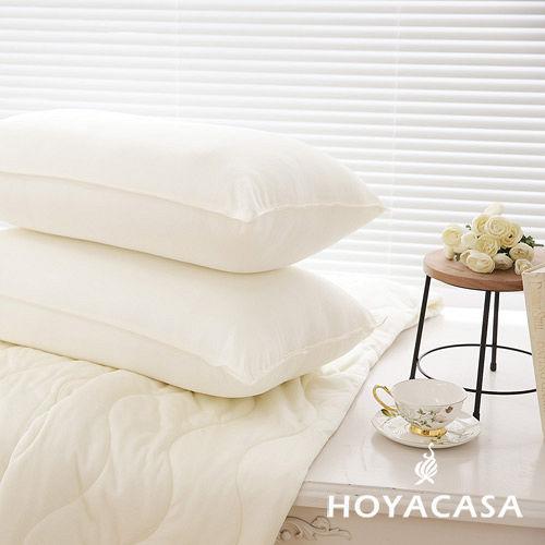 《HOYACASA漫步雲端》獨立筒枕頭(3M布彈力舒柔枕) 四入