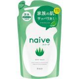 日本Kracie娜艾菩植物性沐浴精補充包【蘆薈】380ml