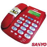 三洋 SANYO 大字鍵 超大鈴聲 來電顯示有線電話 TEL-982