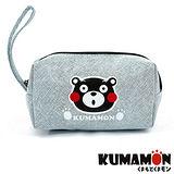 【KUMAMON】 熊本熊化妝包/筆袋 (NO-A150藍)