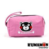 【KUMAMON】 熊本熊化妝包/筆袋 (NO-A150粉)